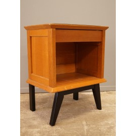 Table de Chevet Pied Compas 1950