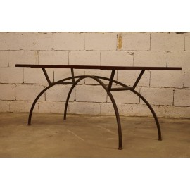 Table Console en Fer 1950