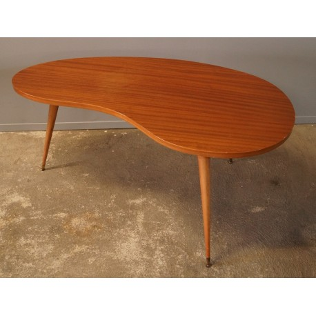 """Table Basse """"Haricot"""" 1950"""